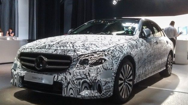 2017 Mercedes Benz E Cl Camouflaged