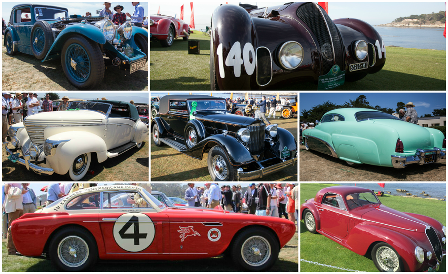 Pebble Picks: C/D's 10 Favorite Cars from the 2015 Pebble Beach Concours - Slide 1