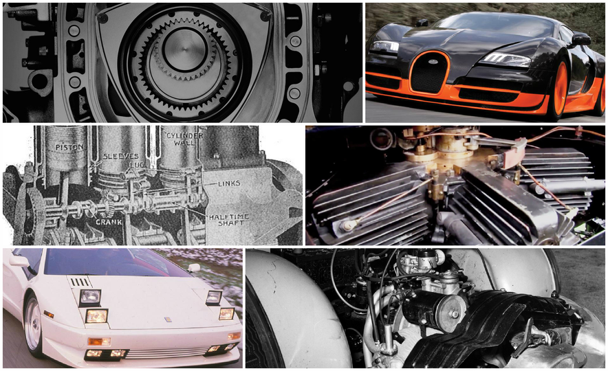 The 10 Most Unusual Production-Car Engines of All Time - Slide 1