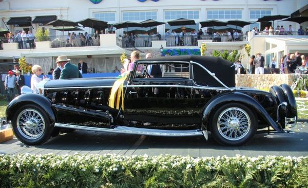 And The Winner Is Striking 1924 Isotta Fraschini Wins 2017 Pebble Beach Concours D