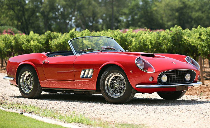 1961 Ferrari 250GT California SWB Spider ($16,830,000) - Slide 1