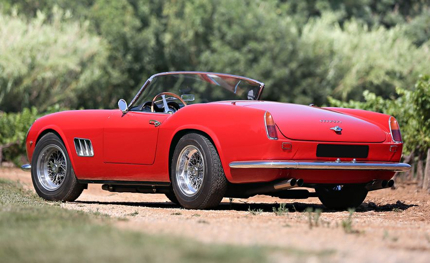 1961 Ferrari 250GT California SWB Spider ($16,830,000) - Slide 2