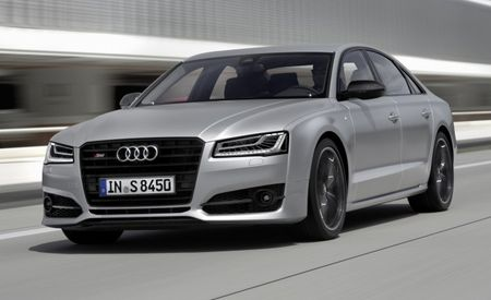 Audi S8 Plus Is Exactly What It Sounds Like: An S8, Plus 85 Horsepower