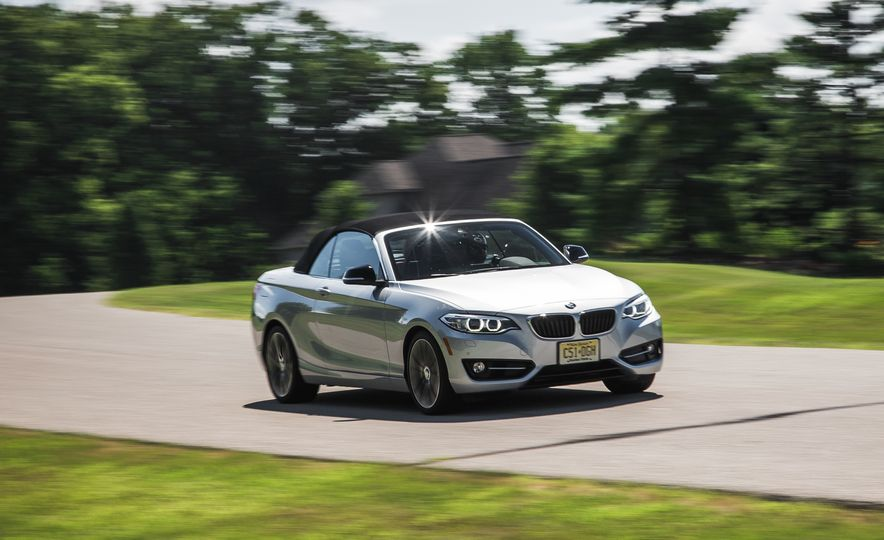 2015 BMW 228i convertible - Slide 1