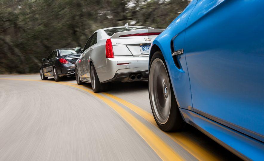 2015 Mercedes-AMG C63 S-Model, 2015 BMW M3, and 2016 Cadillac ATS-V - Slide 3