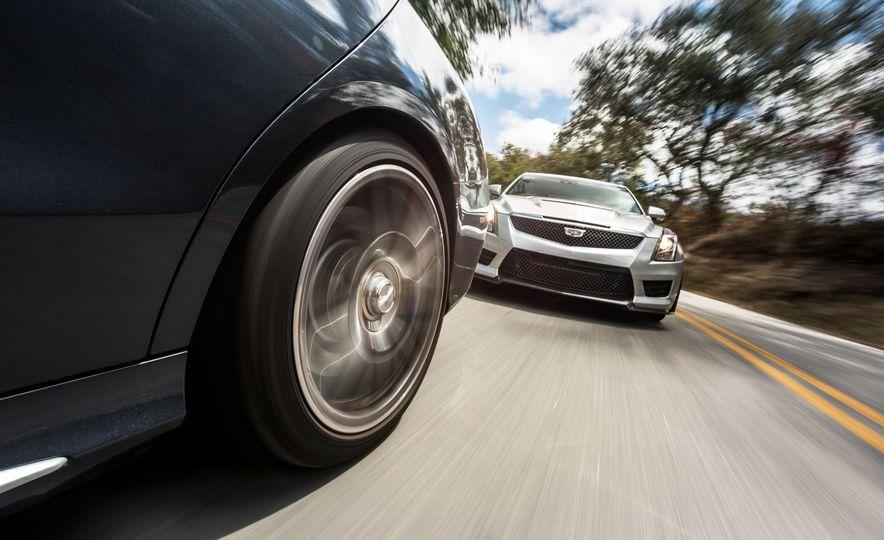 2015 Mercedes-AMG C63 S-Model, 2015 BMW M3, and 2016 Cadillac ATS-V - Slide 6