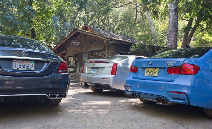 2015 Mercedes-AMG C63 S-Model, 2015 BMW M3, and 2016 Cadillac ATS-V - Slide 8
