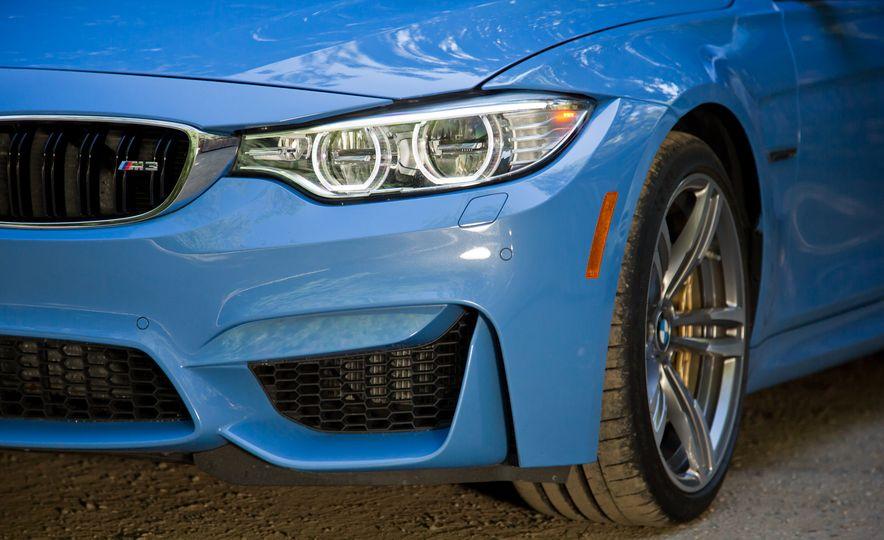 2015 Mercedes-AMG C63 S-Model, 2015 BMW M3, and 2016 Cadillac ATS-V - Slide 17