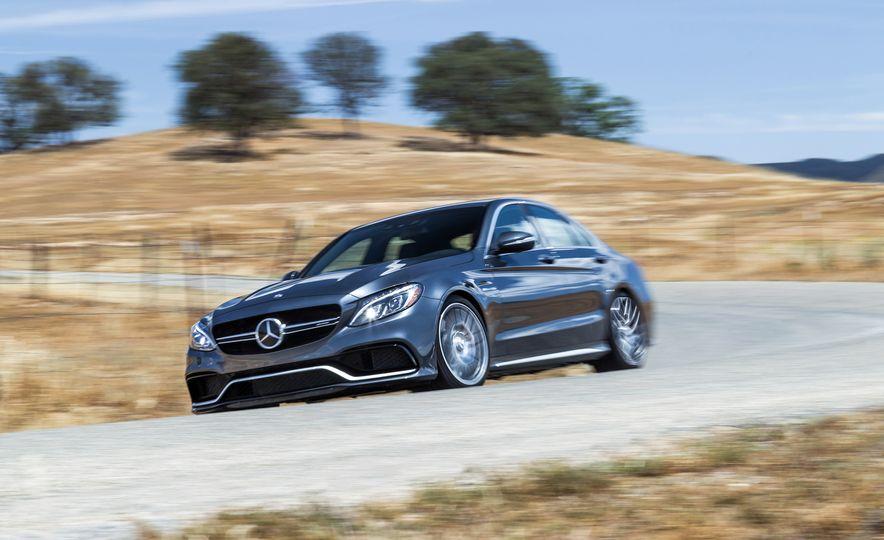2015 Mercedes-AMG C63 S-Model, 2015 BMW M3, and 2016 Cadillac ATS-V - Slide 35