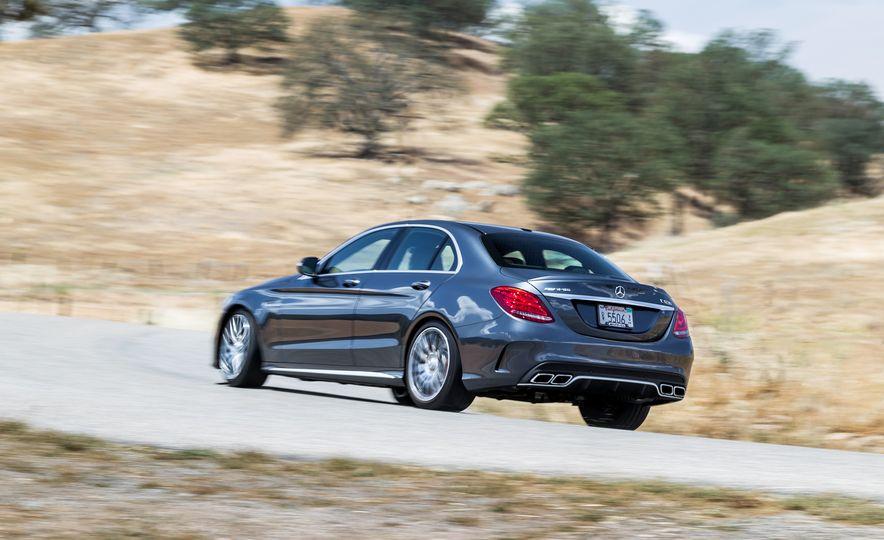 2015 Mercedes-AMG C63 S-Model, 2015 BMW M3, and 2016 Cadillac ATS-V - Slide 36