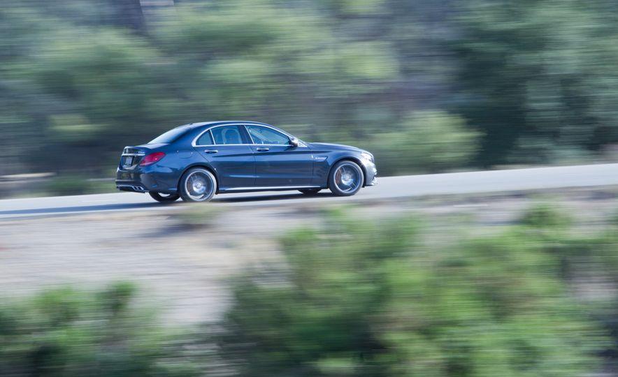 2015 Mercedes-AMG C63 S-Model, 2015 BMW M3, and 2016 Cadillac ATS-V - Slide 37