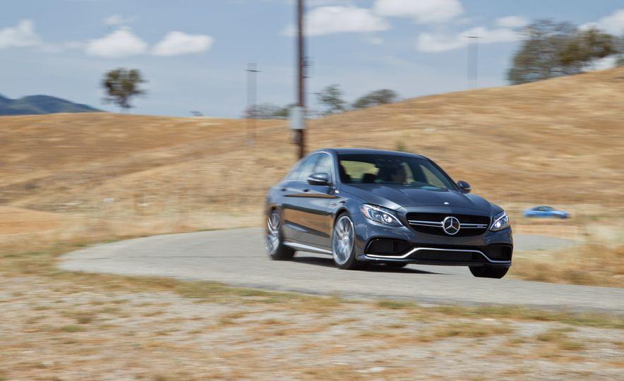 2015 Mercedes-AMG C63 S-Model, 2015 BMW M3, and 2016 Cadillac ATS-V - Slide 38