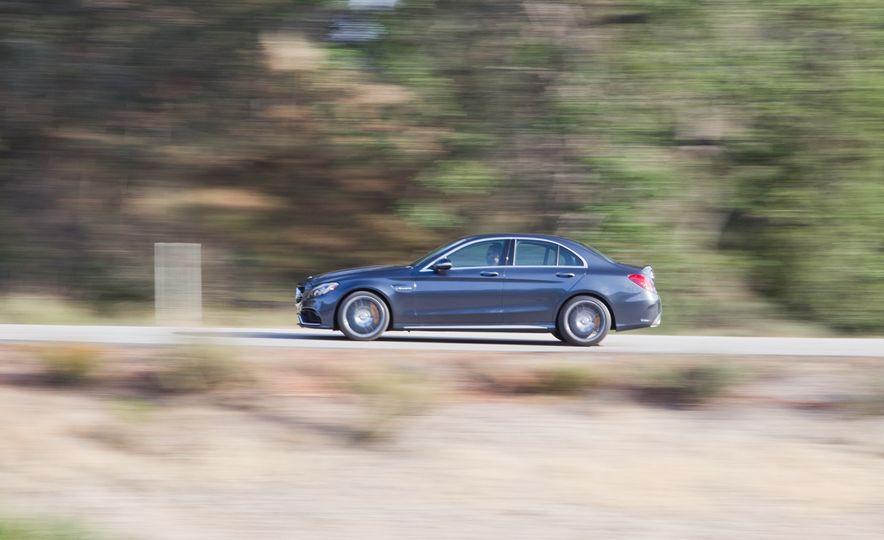 2015 Mercedes-AMG C63 S-Model, 2015 BMW M3, and 2016 Cadillac ATS-V - Slide 39