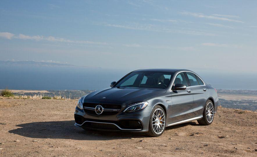2015 Mercedes-AMG C63 S-Model, 2015 BMW M3, and 2016 Cadillac ATS-V - Slide 40