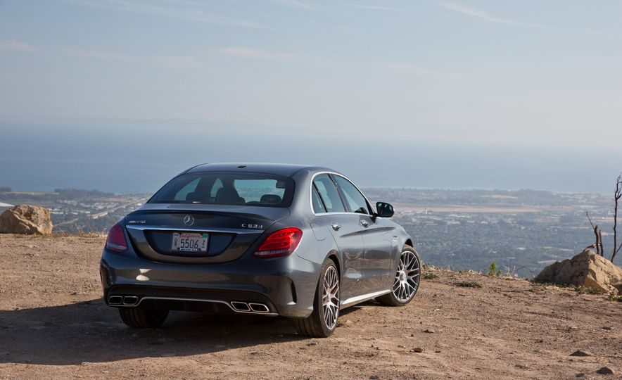 2015 Mercedes-AMG C63 S-Model, 2015 BMW M3, and 2016 Cadillac ATS-V - Slide 41