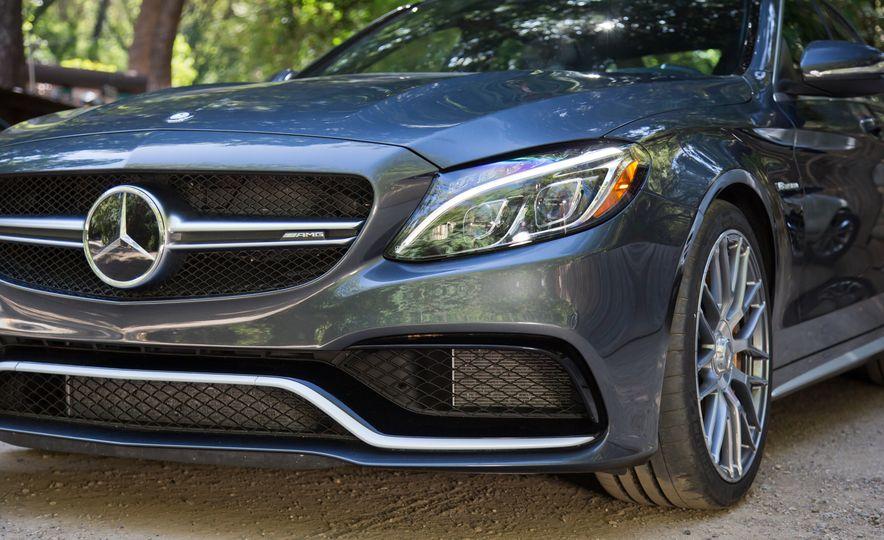 2015 Mercedes-AMG C63 S-Model, 2015 BMW M3, and 2016 Cadillac ATS-V - Slide 42