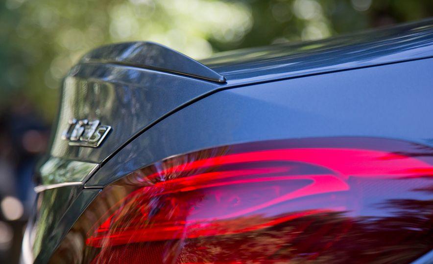 2015 Mercedes-AMG C63 S-Model, 2015 BMW M3, and 2016 Cadillac ATS-V - Slide 43