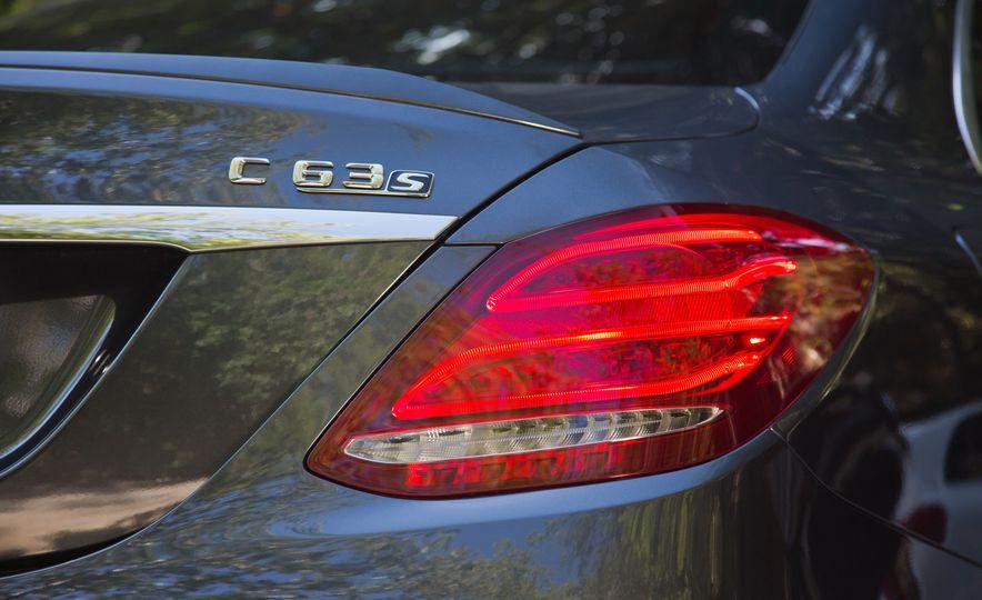 2015 Mercedes-AMG C63 S-Model, 2015 BMW M3, and 2016 Cadillac ATS-V - Slide 44