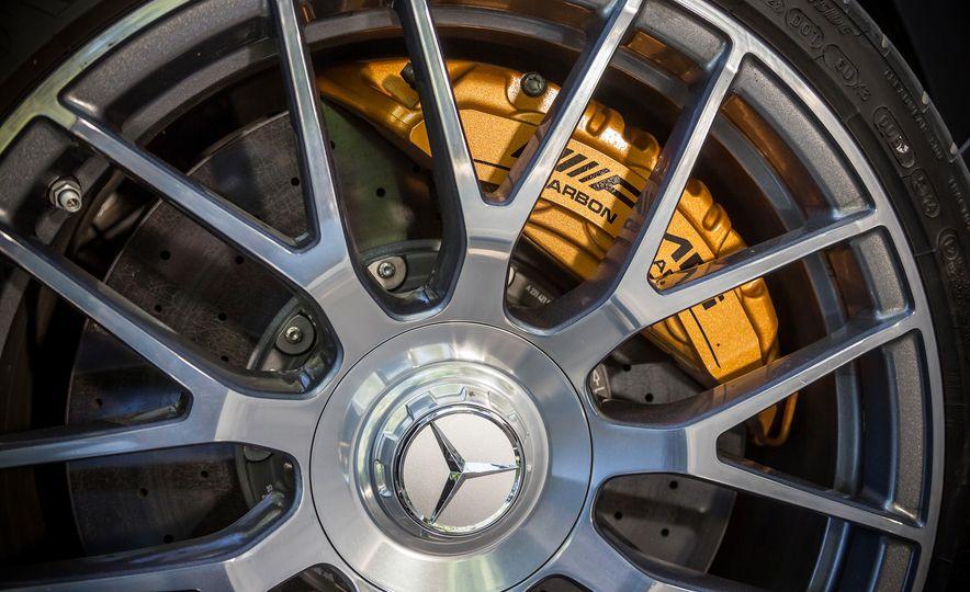 2015 Mercedes-AMG C63 S-Model, 2015 BMW M3, and 2016 Cadillac ATS-V - Slide 45