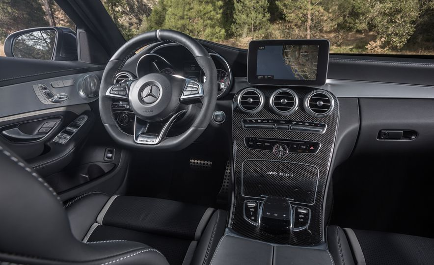 2015 Mercedes-AMG C63 S-Model, 2015 BMW M3, and 2016 Cadillac ATS-V - Slide 51
