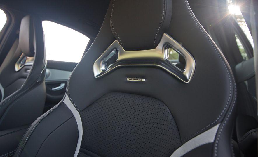 2015 Mercedes-AMG C63 S-Model, 2015 BMW M3, and 2016 Cadillac ATS-V - Slide 52