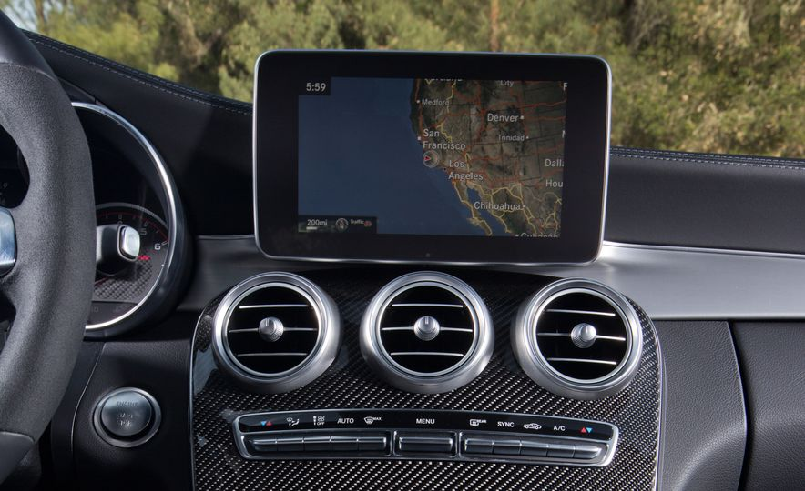 2015 Mercedes-AMG C63 S-Model, 2015 BMW M3, and 2016 Cadillac ATS-V - Slide 53