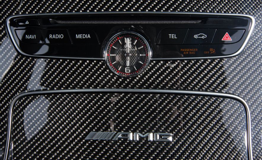 2015 Mercedes-AMG C63 S-Model, 2015 BMW M3, and 2016 Cadillac ATS-V - Slide 55