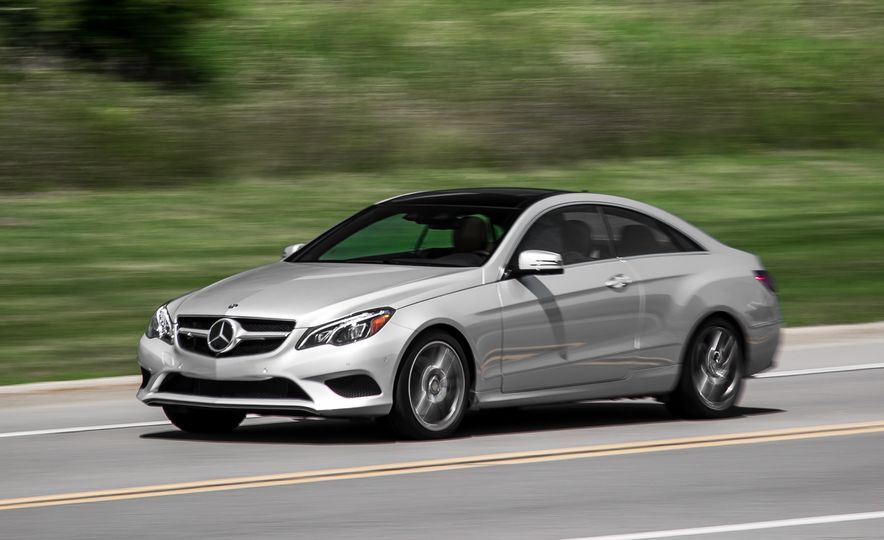 2015 Mercedes-Benz E400 4MATIC coupe - Slide 1