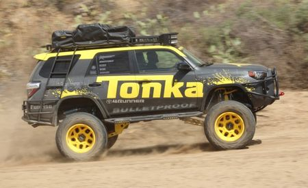 It's a Tonka Toy…ota! We Drive Tonka's Toyota 4Runner