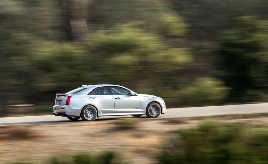 2015 Mercedes-AMG C63 S-Model, 2015 BMW M3, and 2016 Cadillac ATS-V - Slide 61