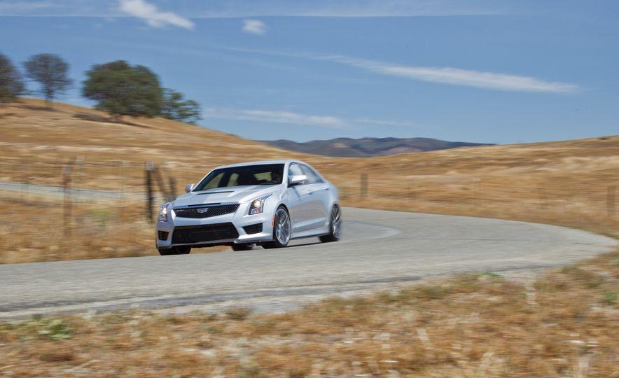 2015 Mercedes-AMG C63 S-Model, 2015 BMW M3, and 2016 Cadillac ATS-V - Slide 62