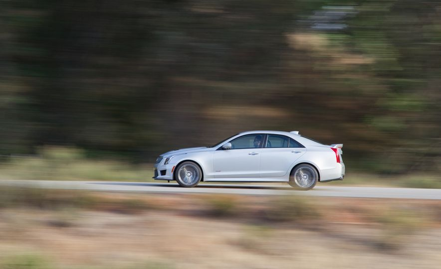 2015 Mercedes-AMG C63 S-Model, 2015 BMW M3, and 2016 Cadillac ATS-V - Slide 64