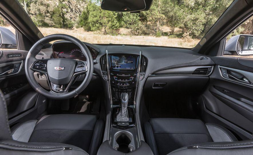 2015 Mercedes-AMG C63 S-Model, 2015 BMW M3, and 2016 Cadillac ATS-V - Slide 78