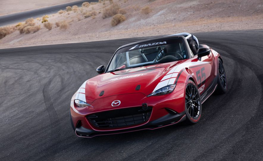 2016 Mazda MX-5 Miata Cup race cars - Slide 9