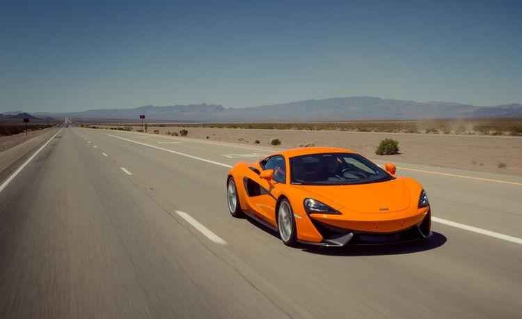Cinéma Fantastique: 128-Seconds of McLaren 570S and 540C Realism [Gallery + Video]