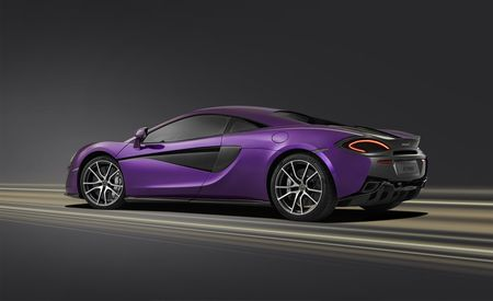Plum Crazy: This One-Off McLaren 570S Is Violetly Purple