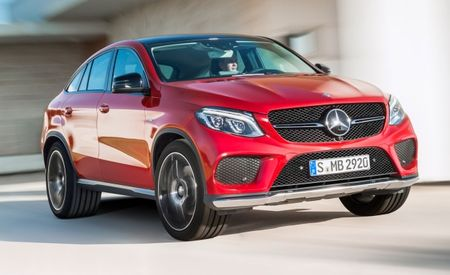 Fancy Fastback: 2016 Mercedes-Benz GLE Coupe Pricing Revealed