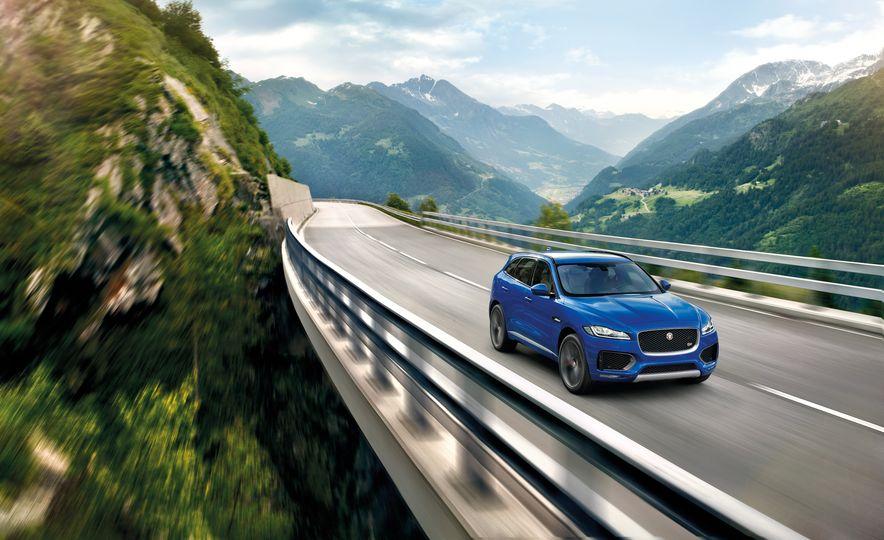 2017 Jaguar F-Pace - Slide 36