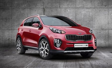 2017 Kia Sportage Breaks Free, Shows Off New Face