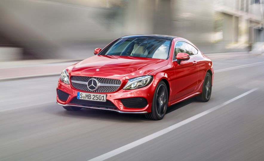 2017 Mercedes-Benz C300 coupe - Slide 21