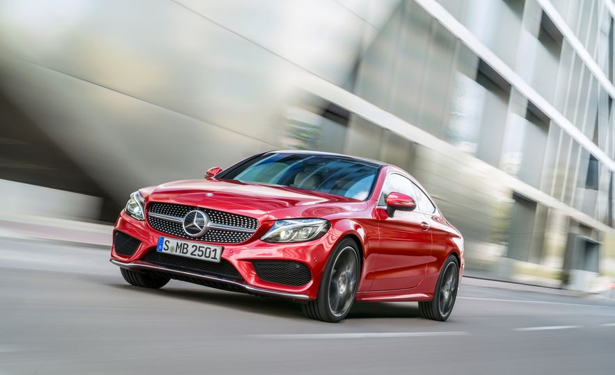 2017 Mercedes-Benz C300 coupe - Slide 22