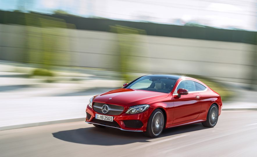 2017 Mercedes-Benz C300 coupe - Slide 23