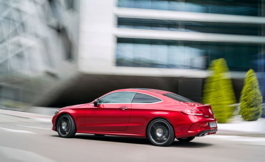 2017 Mercedes-Benz C300 coupe - Slide 25