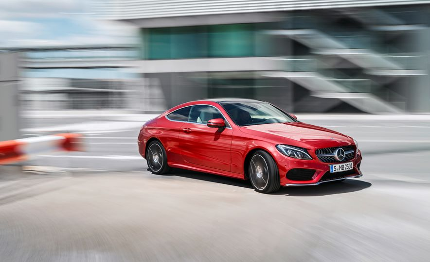 2017 Mercedes-Benz C300 coupe - Slide 26