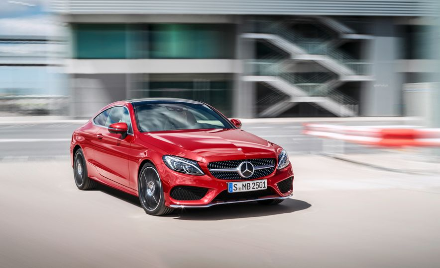 2017 Mercedes-Benz C300 coupe - Slide 27