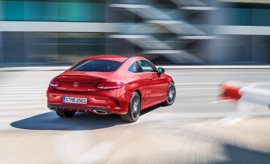 2017 Mercedes-Benz C300 coupe - Slide 28