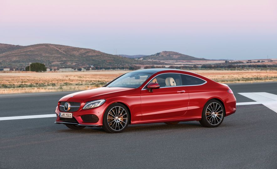 2017 Mercedes-Benz C300 coupe - Slide 30