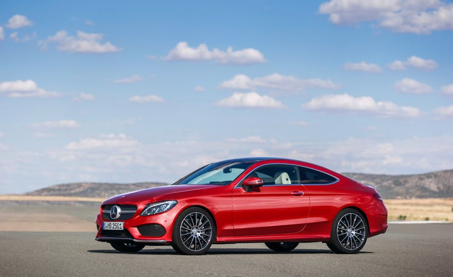 2017 Mercedes-Benz C300 coupe - Slide 33