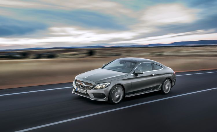 2017 Mercedes-Benz C-class Coupe – Official Photos and Info