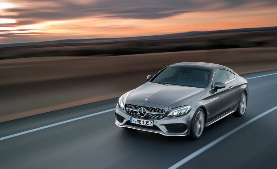 2017 Mercedes-Benz C300 coupe - Slide 2